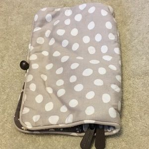 Thirty one 31 Brand clutch wallet polka dots